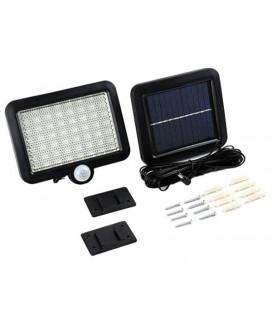Светодиодный прожектор на солнечной батарее 7 Вт, датчик движения и освещенности