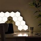 Светильник «СОТЫ», магнитный крепеж, сенсорный датчик, 5 Вт, белый цвет, 1 шт.