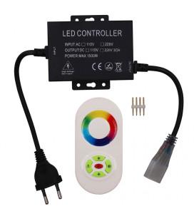 Touch Радио контроллер для Led ленты 220 В (поддержка 100 м) 1500 Вт