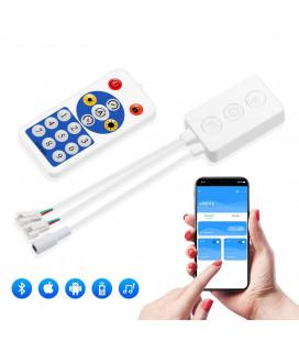 Bluetooth контроллер SPI, SP601E, два выхода , пульт 16 кнопок