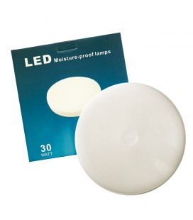 Влагозащищенный ЖКХ светильник, 30 Вт, круглый