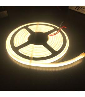 Светодиодная лента SMD 2835, 120 диодов/метр, термостойкая , 24 В, цвет: теплый белый, IP68, катушки менее 5 м.