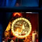 3D фигура-светильник «MERRY CHRISTMAS», на батарейках