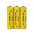 Элемент питания Ni-Cd аккумулятор 1,2В 700 мА/ч , АА(HR06)