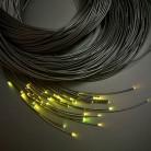 Световой оптоволоконный кабель термостойкий для сауны, готовый жгут 80 шт, длина 5 м, d 1 мм