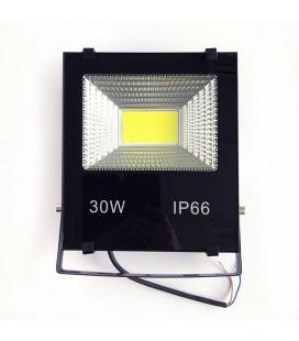 Светодиодный прожектор 12В DC 30 Вт, цвет белый, IP65, COB