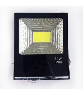 Светодиодный прожектор 12В DC 50 Вт, цвет белый, IP65, COB