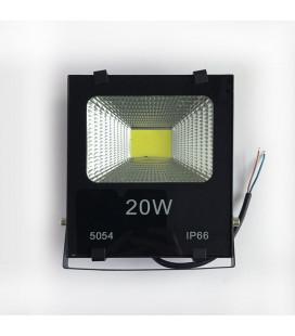 Светодиодный прожектор 12В DC 20 Вт, цвет белый, IP65, COB