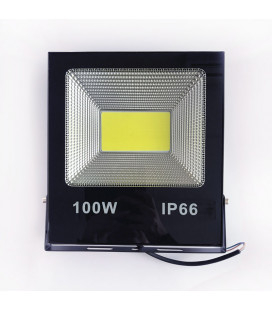 Светодиодный прожектор 12В DC 100 Вт, цвет белый, IP65, COB