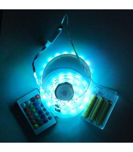 Светодиодная лента SMD 5050, 60 диодов, RGB