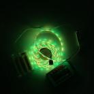 Светодиодная лента SMD 5050, 60 диодов, RGB, IP65 c боксом для батареек, с контроллером и пультом, 2 м, Люкс