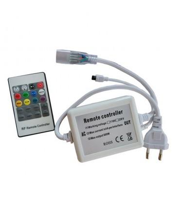 Инфракрасный контроллер  для ленты 220 вольт