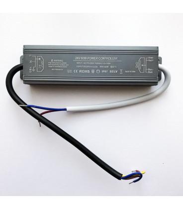Редактировать: Блок питания, 24 В, 60 Вт, алюминиевый, slim compact, IP67