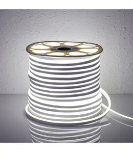 Светодиодный гибкий неон 220В 2835-120 диодов (8х16 мм), белый (продажа кратно 5м)
