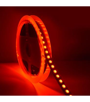 Светодиодная лента SMD 5050, 120 диодов/метр, однорядная, ЛЮКС, 24 В, цвет: RGB, IP33