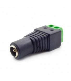 соедиение для кабеля  постоянного тока разъем мама