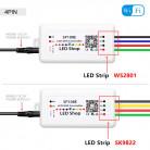 Wifi контроллер для SPI ленты (бегущая волна) SP108E, 5-12В