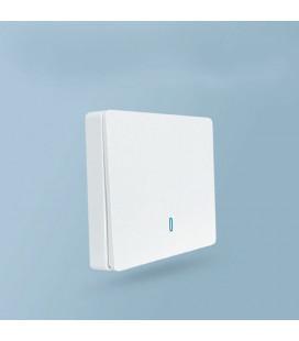 Выключатель-передатчик одноклавишный, Smart серия, белый