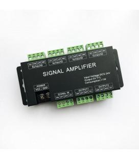 Усилитель (сплиттер) SPI/DMX сигнала, 6 портов, DC 5В