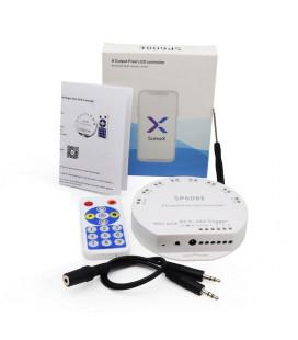 Bluetooth музыкальный контроллер SPI, SP608E, 8 портов, пульт 16 кнопок