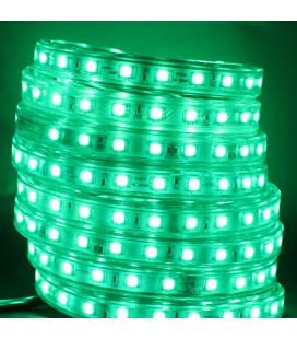 Светодиодная лента SMD 5050, 60 д/м 10мм (12мм) ЭКОНОМ медная , 220В, RGB, IP67