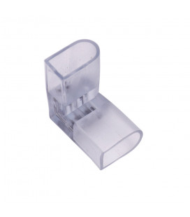 Угловой соединительный коннектор для гибкого неона 8*15mm RGB