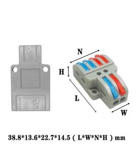 Многоразовая клемма 2/4 контакта L+N/2L+2N