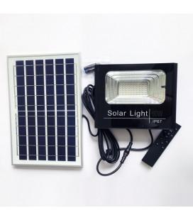Светодиодный прожектор на солнечной батарее, 60 Вт, цвет свечения белый