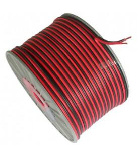 Провод для одноцветной LED ленты 2*0,5мм2 (продажа кратно 5м)