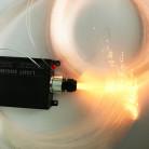 Оптоволоконнный кабель Звездное небо, 1 мм, жгут, 5 м с контроллером RGBW, 16 Вт, пульт 28 кнопок