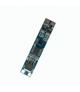 Микроволновый датчик включения на взмах руки с диммированием встраиваемый,12-24В, 8А
