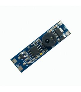 Микроволновый датчик включения на взмах руки с диммированием встраиваемый, 5-12-24В, 4А
