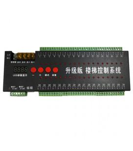 Контроллер для подсветки ступеней, 36 портов для одного цвета, 2 порта SPI
