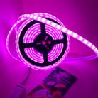 Светодиодная лента SMD 5050, 60 диодов/метр, термостойкая , 24 В, цвет: RGB, IP68