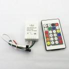 ИК контроллер для SPI ленты (бегущая волна) и пикселей, пульт 24 кнопки