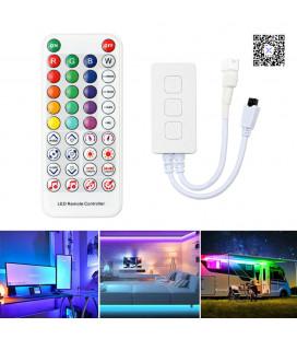 Bluetooth музыкальный контроллер для SPI ленты (бегущая волна) SP611E