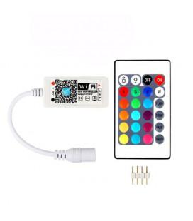 wi-fi контроллер RGB, пульт 24 кнопки
