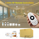 Радио контроллер с трансмиттером, ССT (white+w.white) ленты FUT035