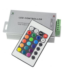 RGB Контроллер RF, 12-24 В, 24 А, 288-576 Вт