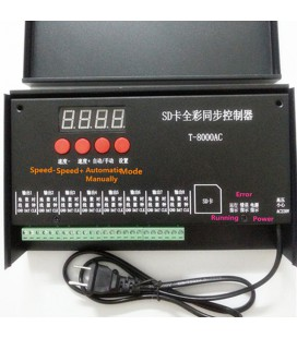 Программируемый SD card контроллер  управления T8000(AC)