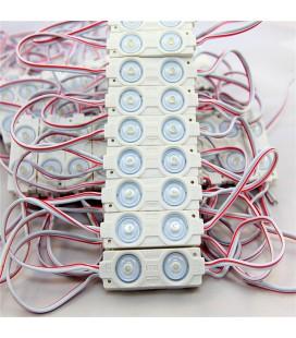 Светодиодный модуль 12V 5050 2led module white(14 lm/led)2