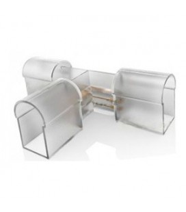 Т-образный  соединительный коннектор для  гибкого неона    8*14мм, 8*16 мм, 8*18 мм