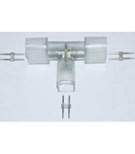 Т-образный  соединительный коннектор для  гибкого неона 220в 8*15mm