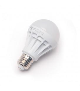 Лампа светодиодная E27, 7Вт, 220В, матовый шар
