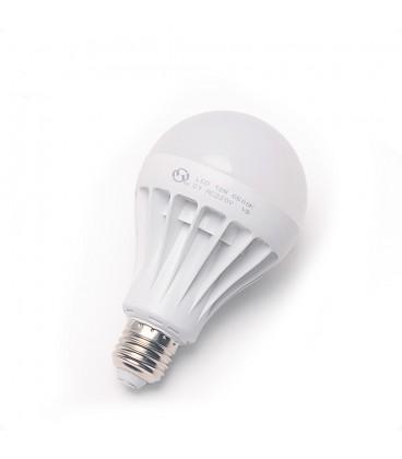 LED лампа E27-12W белый