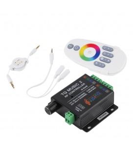 RGB Контроллер Аудио Touch Music 2 RF,12-24 В, 18 A, 216-432 Вт