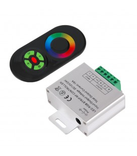 RGB Контроллер Touch RF, 12-24 В, 18 A, 216-432 Вт