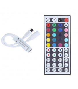 RGB Контроллер Мини IR,  5-24 В, 6 А, 30-144 Вт