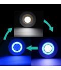 Светодиодный светильник панель-сфера 90-3+3ВТ-220В