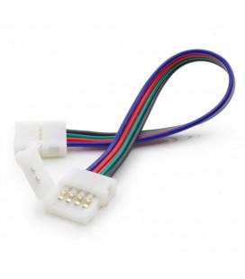соединитель  для  ленты RGB 10 mm(5050) c проводом 10-15 см двухсторонний